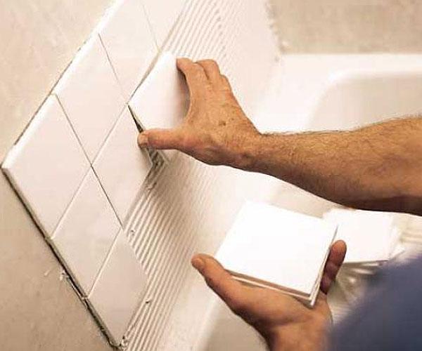 Советы по облицовке стен кафелем